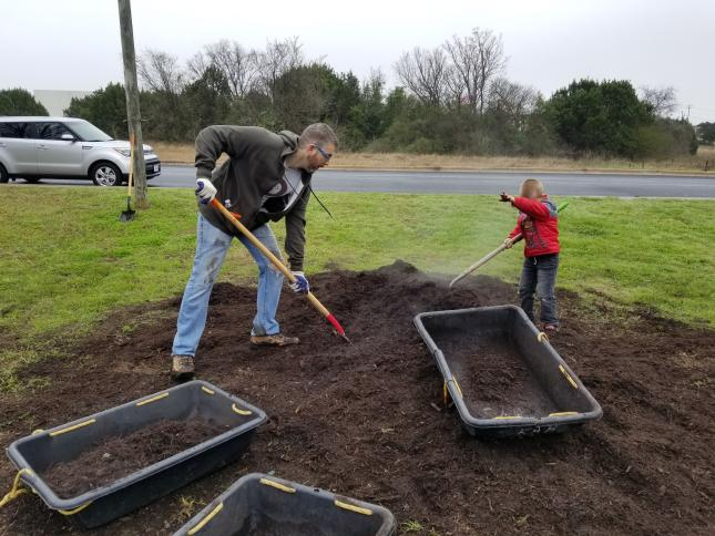 Gamers help Austin Beautify its park at It's My Park Day.