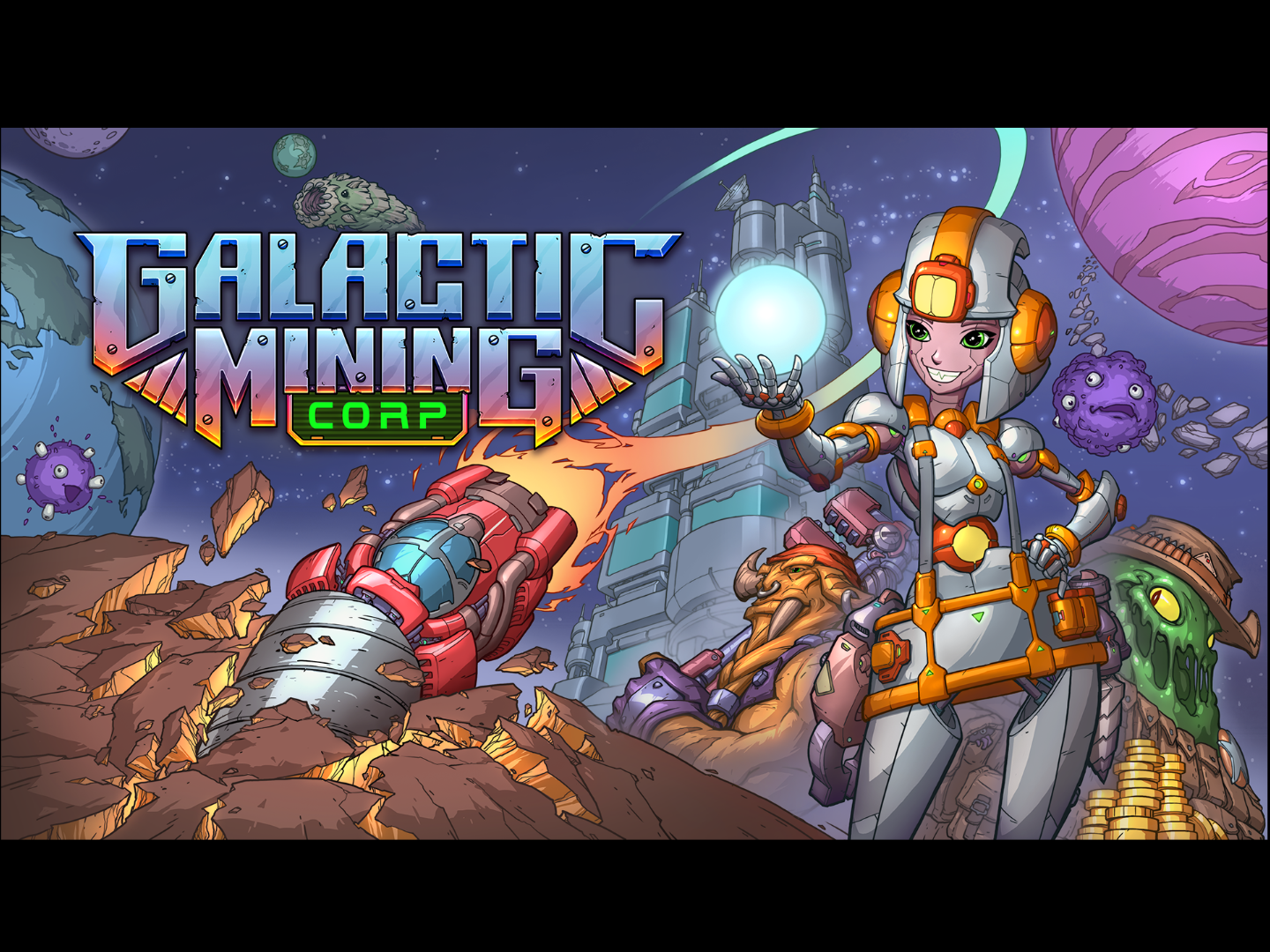 Galactic Mining Corp by Windybeard Games makes a HEFTY donation to support Gamers for Good.